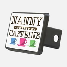 Nanny Powered by Caffeine Hitch Cover