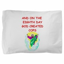 COPS.png Pillow Sham