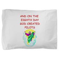PILOTS.png Pillow Sham