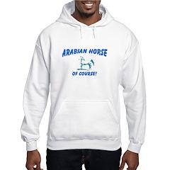 AFTM Arabian Mare Blue & Whit Hoodie