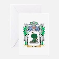 Auld Coat of Arms - Family Crest Greeting Cards