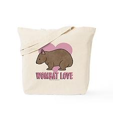 Wombat Love II Tote Bag