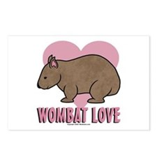 Wombat Love II Postcards (Package of 8)