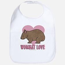 Wombat Love II Bib