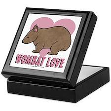 Wombat Love II Keepsake Box