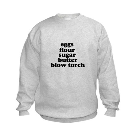 Blow Torch Kids Sweatshirt