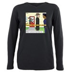 Open and Shut Case Plus Size Long Sleeve Tee