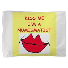 NUMISMATIST.png Pillow Sham