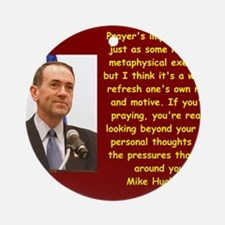 mike huckabee quote Round Ornament