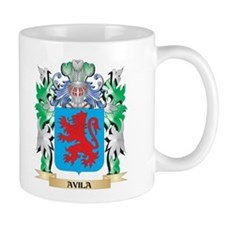 Avila Coat of Arms - Family Crest Mugs