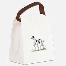 great daneharledave.jpg Canvas Lunch Bag