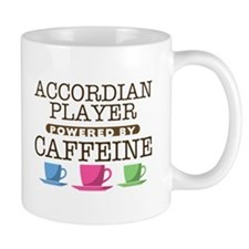 Accordian Player Powered by Caffeine Mug