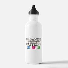 Organist Powered by Caffeine Water Bottle