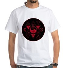 New Hermetics Red on Black Shirt