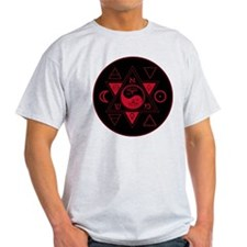 New Hermetics Red on Black T-Shirt