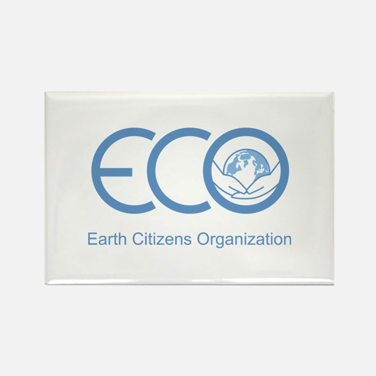 ECO Logo Rectangle Magnet (100 pack)
