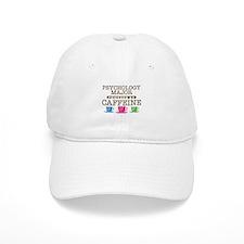 Psychology Major Powered by Caffeine Baseball Cap