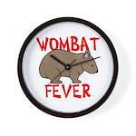Wombat Fever Wall Clock