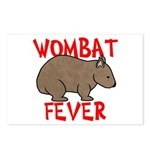 Wombat Fever Postcards (Package of 8)
