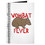 Wombat Fever Journal