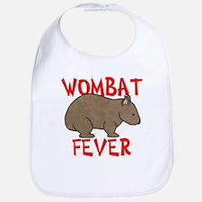 Wombat Fever Bib