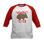 Wombat Fever Kids Baseball Jersey