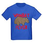 Wombat Fever Kids Dark T-Shirt