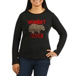 Wombat Fever Women's Long Sleeve Dark T-Shirt