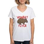 Wombat Fever Women's V-Neck T-Shirt