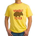 Wombat Fever Yellow T-Shirt