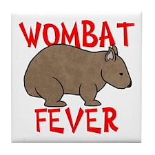 Wombat Fever Tile Coaster
