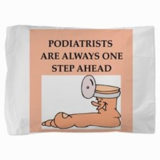PODIATRIST.png Pillow Sham