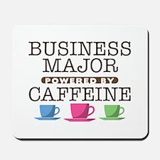 Business Major Powered by Caffeine Mousepad