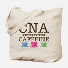 CNA Powered by Caffeine Tote Bag