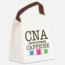 CNA Powered by Caffeine Canvas Lunch Bag