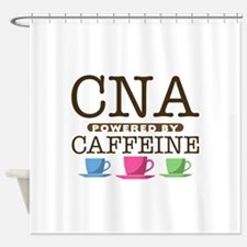CNA Powered by Caffeine Shower Curtain