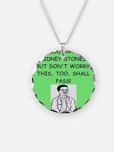 funny doctor joke Necklace