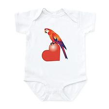Parrot Luv Infant Bodysuit