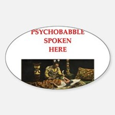 psychology Sticker (Oval)