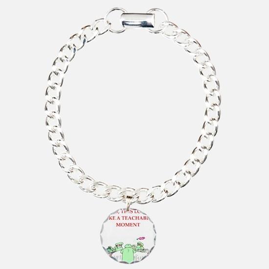doctor joke Charm Bracelet, One Charm