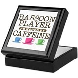 Bassoon Keepsake Boxes