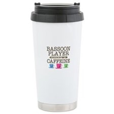 Bassoon Player Powered by Caffeine Ceramic Travel