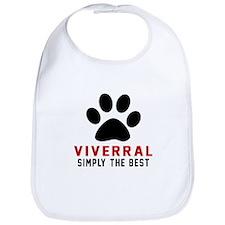 Viverral Simply The Best Cat Designs Bib