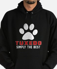 Tuxedo Simply The Best Cat Designs Hoodie