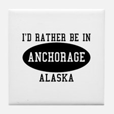 I'd Rather Be in Anchorage, A Tile Coaster