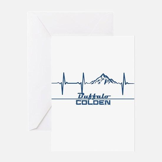Buffalo Ski Club - Colden - New Y Greeting Cards
