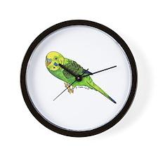 Green Keet Wall Clock