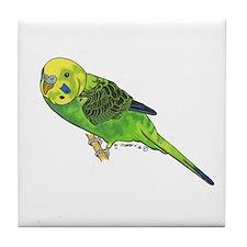 Green Keet Tile Coaster