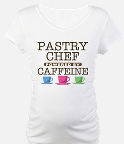 Pastry Chef Powered by Caffeine Shirt