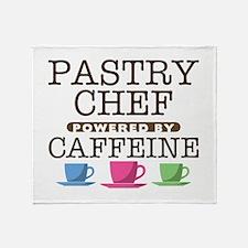 Pastry Chef Powered by Caffeine Stadium Blanket
